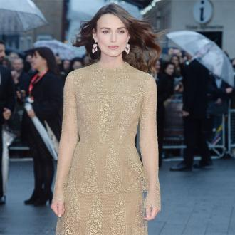 Keira Knightley: Imitation Game set was like school