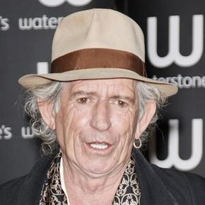 Keith Richards Back In The Studio