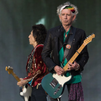 Plant'n'Roll: Keith Richards takes up gardening in lockdown