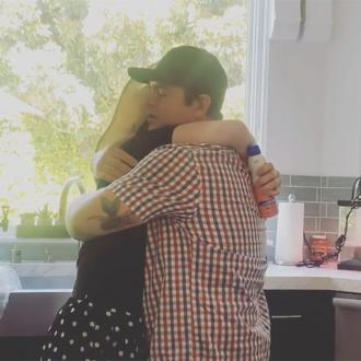 Kelly Osbourne reunites with brother Jack after coronavirus fears