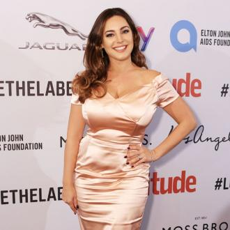 Kelly Brook not motivated when she's happy