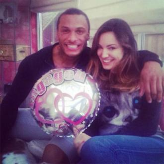 Kelly Brook Posts Engagement Photo