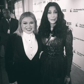 Kelly Clarkson told Cher she's a big fan as they met for the first time