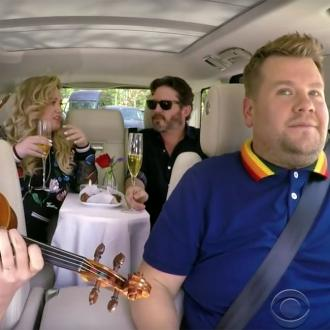 Kelly Clarkson's husband Brandon Blackstock thought he was doing porn in Carpool Karaoke