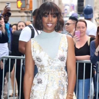 Kelly Rowland cried after leaving her baby for overseas show