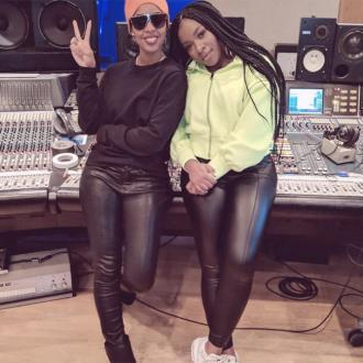 Ray Blk Hits Studio With Kelly Rowland