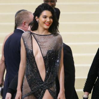 Kendall Jenner wore no-fabric dress to Met Gala