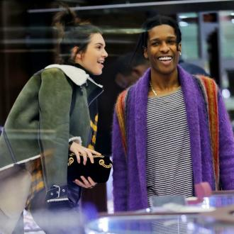Kendall Jenner and A$AP Rocky 'all over each other' at Coachella
