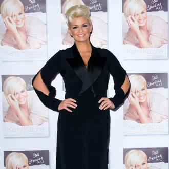 Kerry Katona has had a bum time in hospital