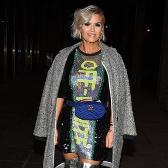 Kerry Katona felt 'flustered' when Robbie Williams stripped off