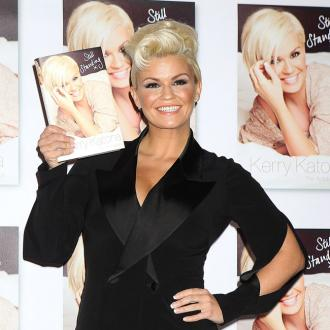 Kerry Katona Loves Wrapping Presents