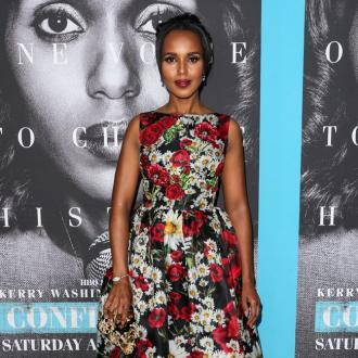 Kerry Washington 'loves' water aerobics