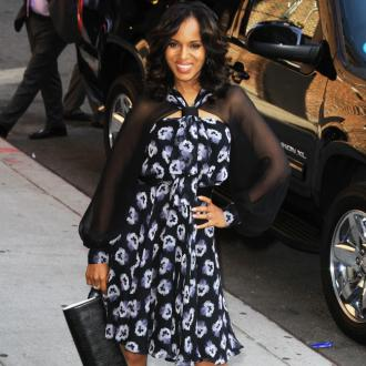 Kerry Washington Not Offended By Gay Rumours