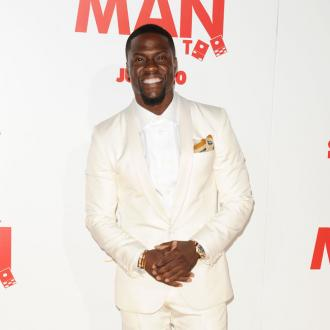Kevin Hart gifts muscle cars to his team