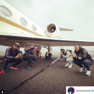 Kevin Hart survives 'serious aeroplane scare'