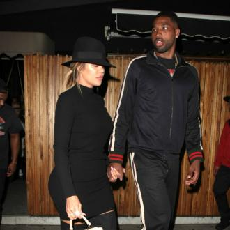 Tristan Thompson 'Caught Kissing Mystery Woman In New York'