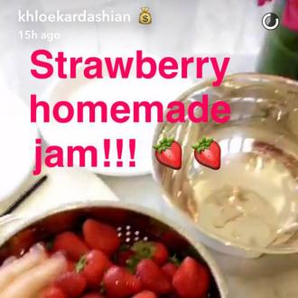 Khloe Kardashian reveals her jam-making skills