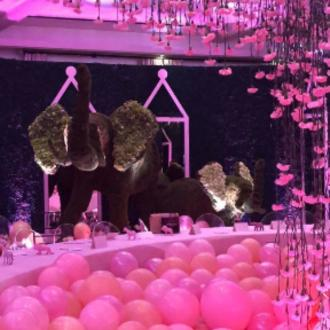 Khloe Kardashian Was Thrown Elephant-themed Baby Shower