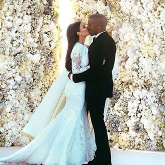 Kim Kardashian West's Wedding Photo Makes Instagram History