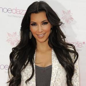 Hair-free Kim Kardashian