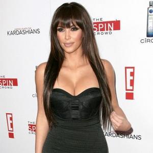 Kim Kardashian Promotes Footwear Range
