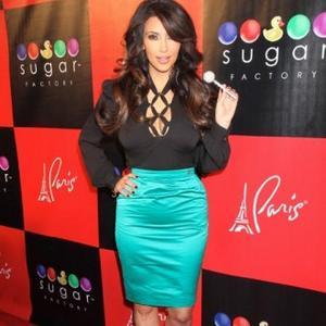 Kim Kardashian Can't Beat Cellulite
