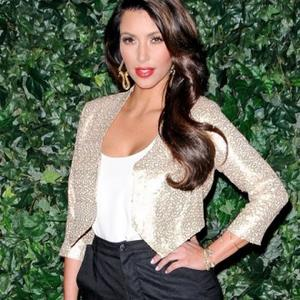 Kim Kardashian Crashes Fiance's Bachelor Party