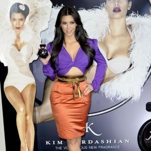 Kim Kardashian Works Hard At Figure