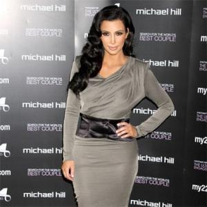 Kim Kardashian Preparing For Wedding At Spa