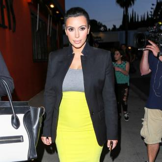 Kim Kardashian Resting After Pregnancy Scare