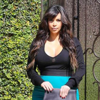 Kim Kardashian Happy With Weight