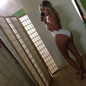 Kim Kardashian Shows Off Post-baby Body
