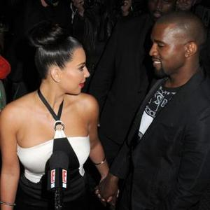 Kim Kardashian And Kanye Snapped Walking Hand-in-hand