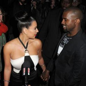 Kanye West Makes Kim Change Wardrobe