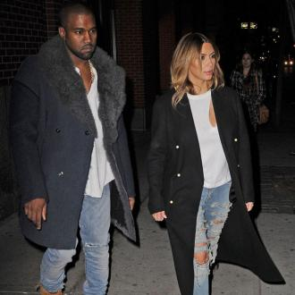Kim Kardashian And Kanye West Enjoy Shopping Spree