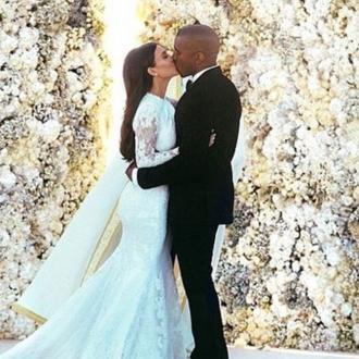 Kanye West And Kim Kardashian Spent 4 Days Editing Wedding Photo
