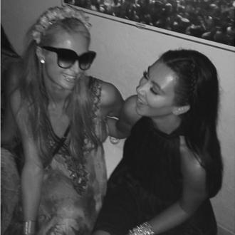 Kim Kardashian And Paris Hilton Friends Again