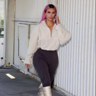 Kim Kardashian West debuts new Yeezy season