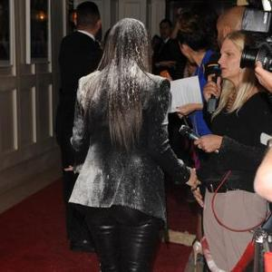 Kim Kardashian 'Laughing Off' Flour-bombing