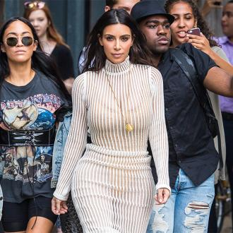 Kim Kardashian West Rushes To Be With Kanye West