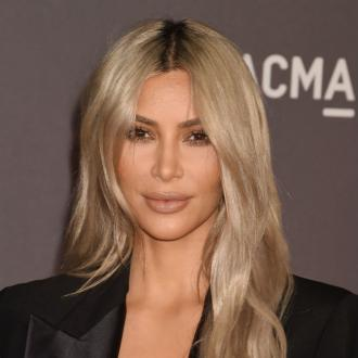 Kim Kardashian West gradually bleaches her hair to prevent it from falling out