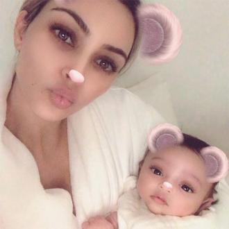 Kim Kardashian West Shares First Picture Of Chicago West