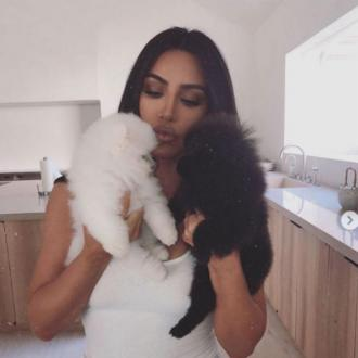 Kim Kardashian West gets two new pups