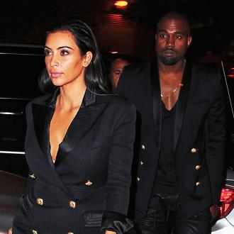 Kim Kardashian West And Kanye West Are The New Faces Of Balmain