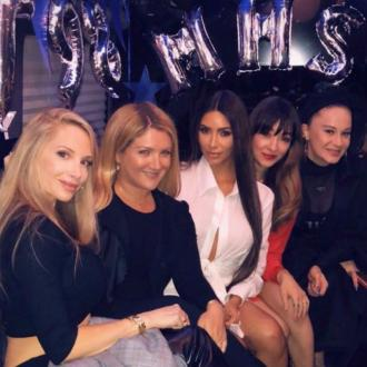 Kim Kardashian West attends school reunion
