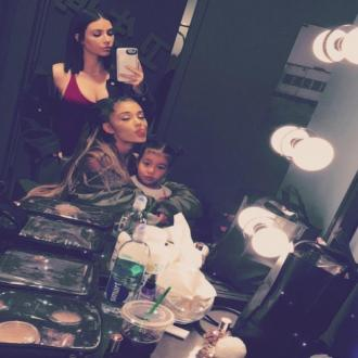 Kim Kardashian West introduces North to Ariana Grande