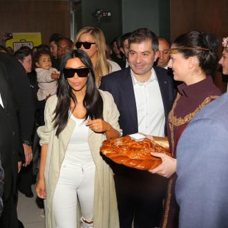 Kim Kardashian West Greeted By Cheering Crowds In Armenia