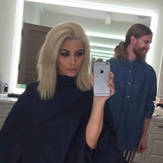 Kim Kardashian West Goes Platinum Blonde