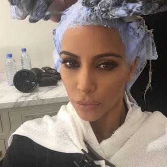 Kim Kardashian West: Blonde Is Full-time Job