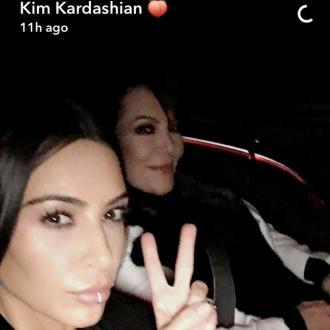 Kim Kardashian West Posts First Selfie Of 2017